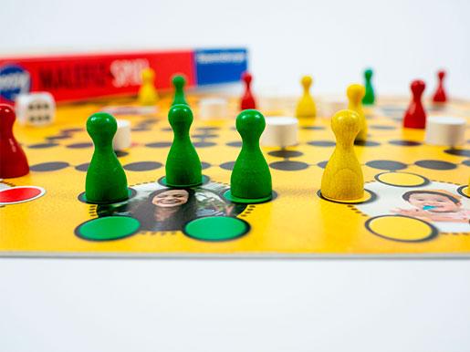 Spielfiguren - my Malefiz Brettspiel selber machen